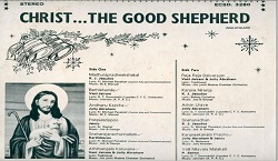 Christ the Good Shepherd - L P Record