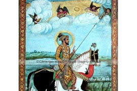 Shah Jehan with Angel musicians