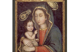 The Blessed Virgin and Child