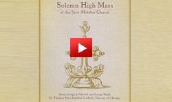 Solemn High Mass  of the Syro-Malabar Church  CD (English) -youtube video