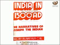 India in 1500 AD by Antony Vallavanthara CMI