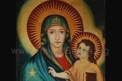 Blessed Virgin and Child at Pallippuram