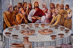 Last Supper Acrylic on canvas by M. P. Manoj